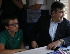 """Нашелся сын Саакашвили, """"потерянный"""" в аэропорту"""