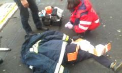 На Донетчине 15-летний парень рухнул с огромной высоты