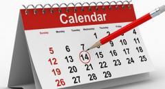 Верховной Радой были внесены изменения в календарь праздников