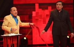 """Премьера шоу """"Украинский формат"""" на NewsOne: Рабинович предложил Саакашвили «дожевать галстук»"""