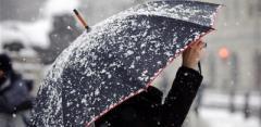 Завтра на Украину обрушатся дожди со снегом