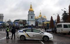 В центр Киева стянули более трех тысяч силовиков