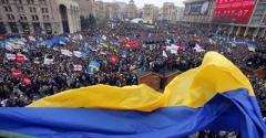 Майдан в Киеве: Подожгли шины. Похоже на этот раз все очень серьезно