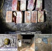 У жителей Курахово отобрали тротил и гранату