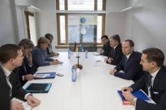 """В Брюсселе обсудили обстрелы Донбасса и """"переворот"""" в Луганске"""