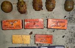 Взрывной схрон обнаружен на юге Донетчины