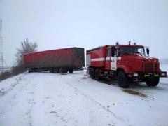 На Луганщине спасали из снежного плена