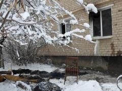 В Донецкой области сгорел пенсионер