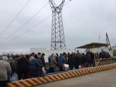 Воскресные очереди: соцсети сообщили о ситуации на донбасских КПВВ
