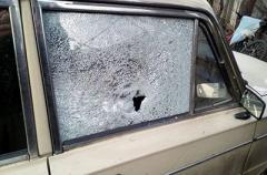 На Донбассе боевики изрешетили автомобиль мирного жителя