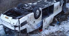 Срочно! В России перевернулся автобус с украинцами