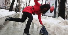Синоптики предупреждают: мокрый снег и дождь, на дорогах – гололедица