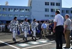 На Землю вернулись с орбиты россиянин, американец и итальянец