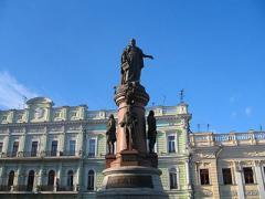 Памятник Екатерине II, одной из основательниц Одессы, решили демонтировать