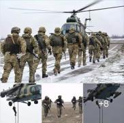 В зоне АТО десант высадился с вертолета