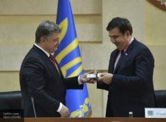 """""""Вы знаете адрес моего балкона"""": Саакашвили будет стращать Порошенко с помощью видеоэкрана на крыше. ВИДЕО"""