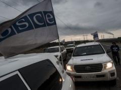 Две женщины и пустое помещение: СММ ОБСЕ побывала у попранной границы между Украиной и Россией