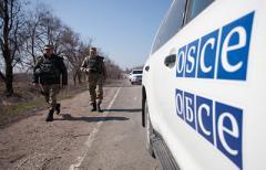 ОБСЕ заметила военную технику около Мариуполя