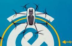 Китайский производитель пассажирских дронов опубликовал первое видео пилотируемых полетов (ВИДЕО)