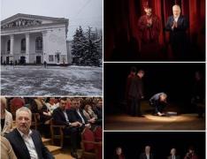 В Мариуполе прошла премьера на обновленной театральной сцене