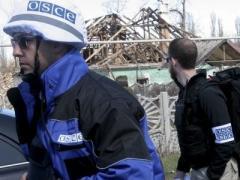 В Попасной миссия ОБСЕ пряталась от обстрела в подвале
