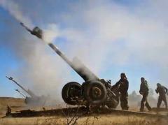 Под грохот артиллерии оккупанты Донбасса снизили активность в зоне АТО