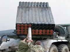 """Оккупанты Донбасса привели РСЗО """"Град"""" в боевое положение"""