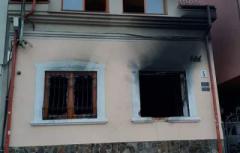 Офис венгерского союза в Ужгороде подожгли второй раз за месяц