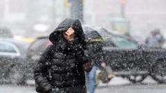 В Украину движется новый циклон со снегом и дождем