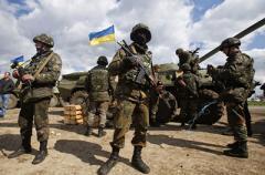 Штаб АТО: Из-за обстрелов боевиков погиб один военный ВСУ, трое ранены