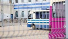 В аннексированном Крыму обносят высокими решетками автовокзалы