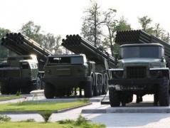 На Донбассе приготовили гаубицы и реактивные системы залпового огня