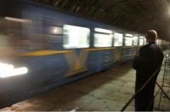 Поезд-призрак попал в объектив камеры (ВИДЕО)