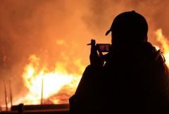 В Краматорске психически больной молодой человек совершил серию поджогов