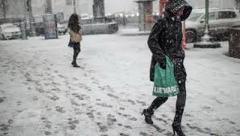 В апреле в Украине выпадет снег