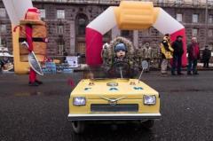 В Украине создали самый маленький бензиновый автомобиль