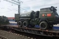 Китайская военная техника зашла на территорию России. ВИДЕО