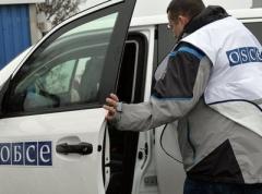 СММ ОБСЕ: на Луганщине стреляли из пушки