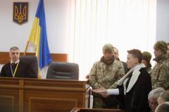 Савченко посадили на два месяца