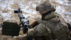 За сутки российско-оккупационные 44 раза нарушили перемирие на Донбассе: погиб воин ВСУ
