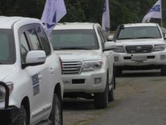 10 минут и чуть более часа: наблюдатели СММ ОБСЕ побывали на границе в неподконтрольном Донбассе