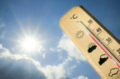 В Украину придет настоящая жара