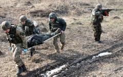 На Донбассе ранен один военный — штаб