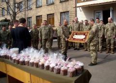 Капелланы поздравили украинскую сторону СЦКК