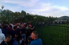 Українці почали штурмувати пункт пропуску на Шегині-Медика