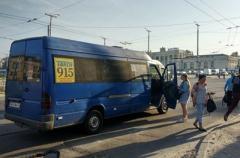 В Запорожье на ходу развалилась подорожавшая маршрутка.