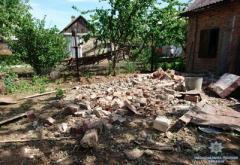 Жестоко обстрелян поселок под Бахмутом