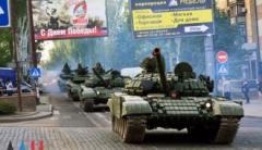 Боевики перемещают на передовую военную технику с «парадов»
