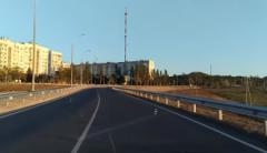 В оккупированной Керчи открыли движение по путепроводу к Крымскому мосту
