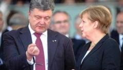 Порошенко и Меркель во время телефонного разговора обсудили Путина